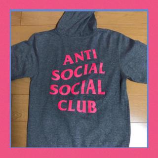 アンダーカバー(UNDERCOVER)の本物 antisocialsocialclub パーカー tシャツ ma1 新作(パーカー)