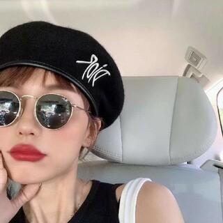 クリスチャンディオール(Christian Dior)のクリスチャンディオール ベレー帽(ハンチング/ベレー帽)