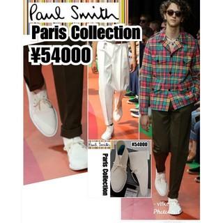 ポールスミス(Paul Smith)の新品 定価5.4万★Paul Smithシューズ パリコレ着用 最高峰(ドレス/ビジネス)
