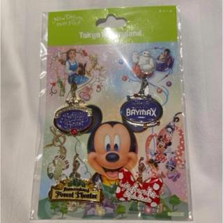 ディズニー(Disney)のディズニーランド 新エリア チャーム4点セット(キャラクターグッズ)