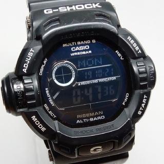 ジーショック(G-SHOCK)のRISEMAN マットブラック! GW-9200BWJ-1JF G-SHOCK(腕時計(デジタル))