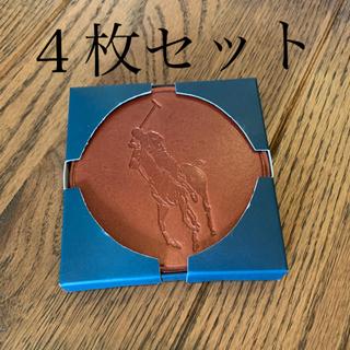 ポロラルフローレン(POLO RALPH LAUREN)のラルフローレン コースター3枚セット ブラウン(その他)