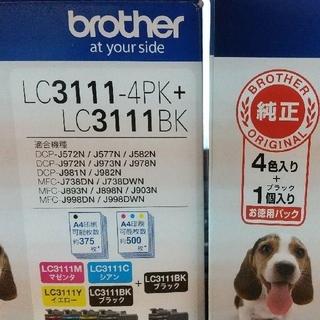 brother - [純正、未使用計10パック]ブラザーインク LC3111 4pc+black