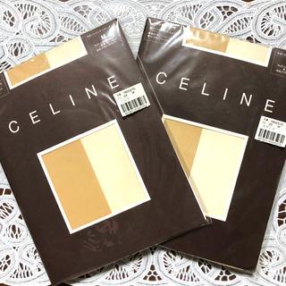 セリーヌ(celine)のCELINE  サポートパンティストッキング 2セット Mサイズ(タイツ/ストッキング)