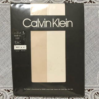 Calvin Klein - CalvinKlein サポートストッキング Lサイズ