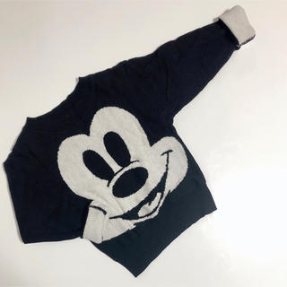 ディズニー(Disney)の24.韓国子供服 ミッキー ニット(ニット)