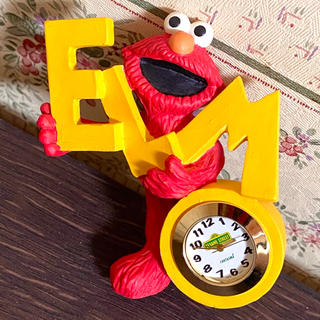 SESAME STREET - レア❤セサミストリート/エルモ/ヴィンテージ置時計❤カウズ/カーミット/アメトイ