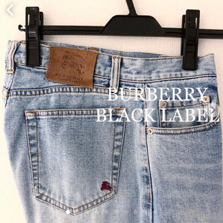 バーバリーブラックレーベル(BURBERRY BLACK LABEL)のバーバリー  ブラックレーベル デニム ジーンズ BURBERRY(デニム/ジーンズ)