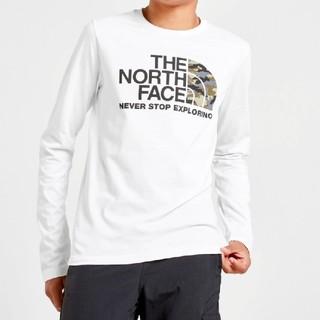 ザノースフェイス(THE NORTH FACE)のノースフェイス カモフラージュロゴ ロンT メンズS〜M相当 長袖(Tシャツ/カットソー(七分/長袖))