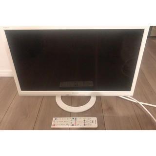 SHARP - AQUOS 24V型 テレビ ホワイト