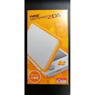 ニンテンドー2DS(ニンテンドー2DS)の未開封新品 Newニンテンドー2DS LL 【ホワイト×オレンジ】任天堂(携帯用ゲーム機本体)