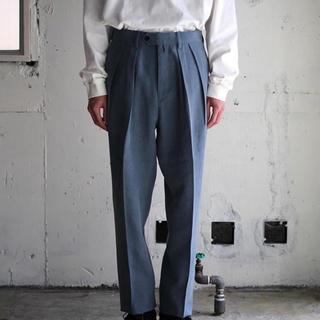 コモリ(COMOLI)のNEAT  Cellulose Nidom Trousers 今週のみ値下げ(スラックス)