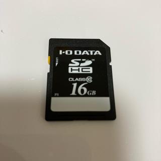 アイオーデータ(IODATA)のSDカード16GB class10(その他)