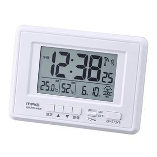 目覚まし時計 電波 デジタル ケプラー(置時計)