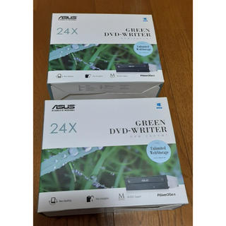 エイスース(ASUS)の<新品>ASUS 内蔵型DVDドライブ SATA DRW-24D5MT <2個>(PC周辺機器)