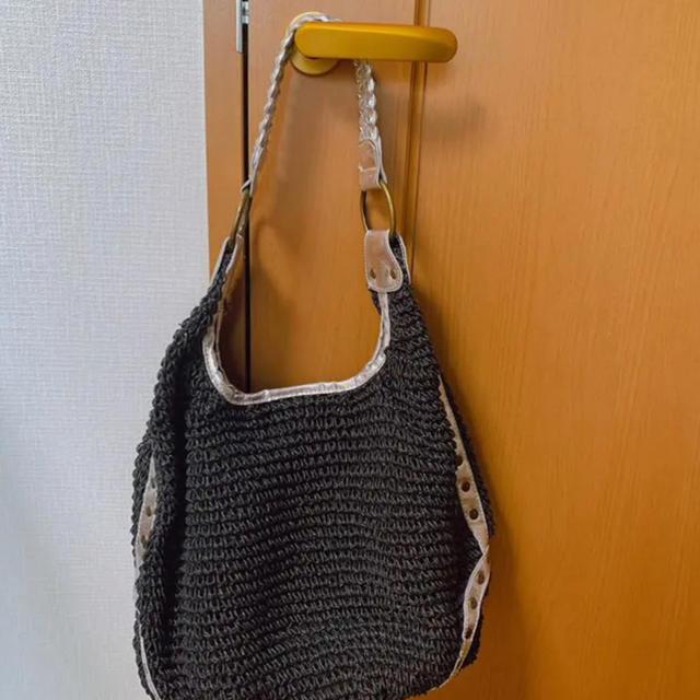 iiMK(アイアイエムケー)のiiMK カゴバッグ レディースのバッグ(かごバッグ/ストローバッグ)の商品写真