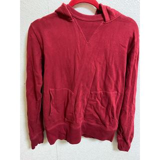 グラニフ(Design Tshirts Store graniph)のパーカー 紅色 グラニフ トレーナー スウェット(パーカー)