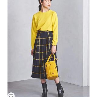 UNITED ARROWS - UNITED ARROWS UBCS チェック タック スカート 36サイズ