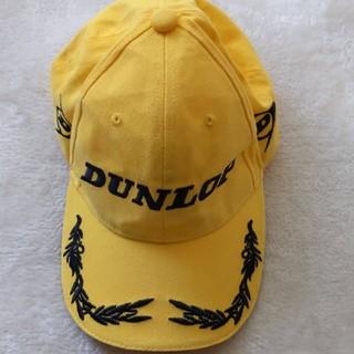 ダンロップ(DUNLOP)のダンロップ キャップ 帽子 黄色(キャップ)