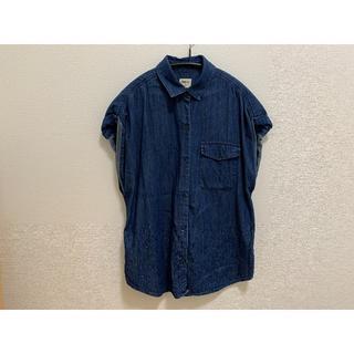 ギャップ(GAP)のGAP ダンガリーシャツ(シャツ/ブラウス(半袖/袖なし))