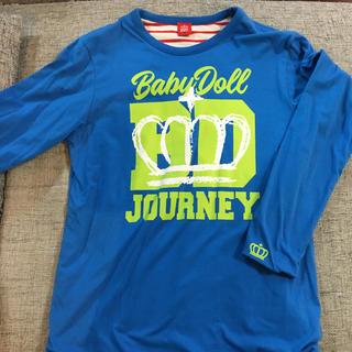 ベビードール(BABYDOLL)のベビードール 長袖Tシャツ Lサイズ 青(Tシャツ(長袖/七分))