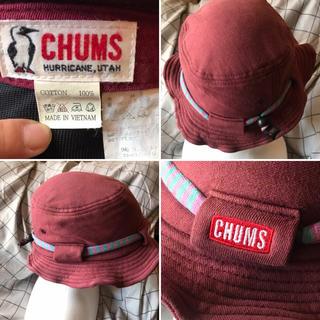 チャムス(CHUMS)のCHUMS チャムス 帽子 TG hat ハット♡中古品 (ハット)