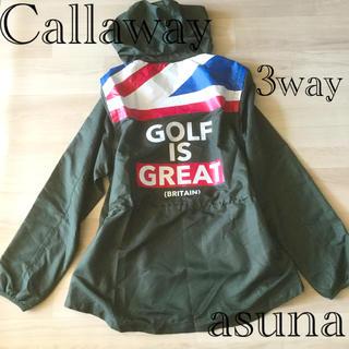 キャロウェイゴルフ(Callaway Golf)の売約◉yuki25様キャロウェイ   3wayウィンドウブレーカー ベスト(ウエア)