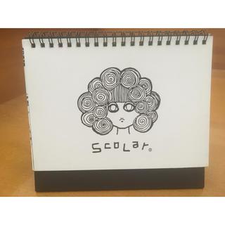 スカラー(ScoLar)のScoLar スカラー   置き型カレンダー2013(カレンダー/スケジュール)