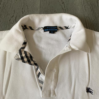 バーバリーブルーレーベル(BURBERRY BLUE LABEL)のバーバリー ブルーレーベル M 美品(ポロシャツ)