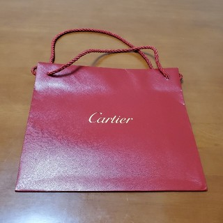 カルティエ(Cartier)のカルティエ ショップ袋 紙袋(ショップ袋)