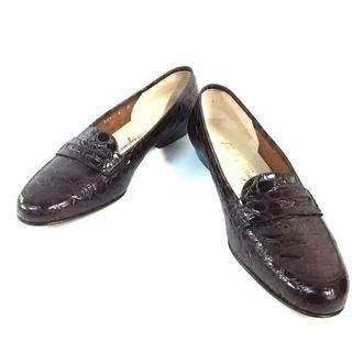 サルヴァトーレフェラガモ(Salvatore Ferragamo)のサルバトーレフェラガモ ローファー 6 B -(ローファー/革靴)