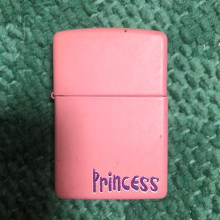 ジッポー(ZIPPO)のマットピンク Princess Zippo プリンセス ジッポー ライター(タバコグッズ)