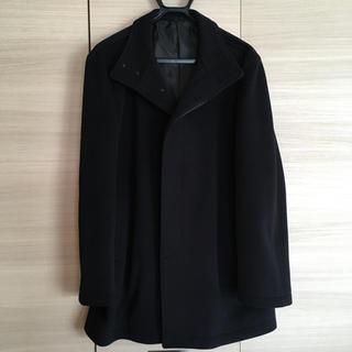 ムジルシリョウヒン(MUJI (無印良品))の無印 メンズ 秋物コート ブラック(その他)