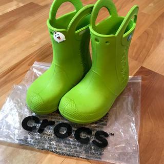 crocs - クロックスレインブーツ