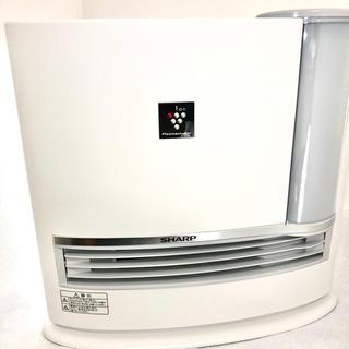 シャープ(SHARP)のヒドロキシアパタイト様専用 加湿セラミックファンヒーターHX-G120-W(電気ヒーター)