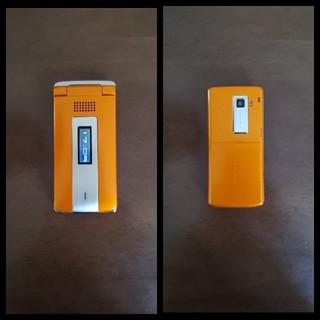 エヌティティドコモ(NTTdocomo)のガラケー docomo SH702iS(携帯電話本体)