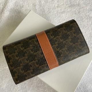 セリーヌ(celine)の送料込み  Celineセリーヌ  二つたたみ  折り財布(折り財布)