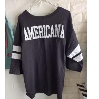 アパルトモンドゥーズィエムクラス(L'Appartement DEUXIEME CLASSE)のap studio アメリカーナ別注 ボーイフレンドフットボールT(Tシャツ(半袖/袖なし))