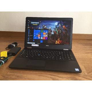 デル(DELL)のE5570 i5 6300U 256G/SSD 1920x1080 8G(ノートPC)