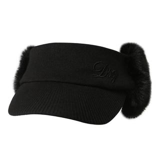 デサント(DESCENTE)のDESCENTE ゴルフ 帽子 耳当て サンバイザー 韓国 golf(ウエア)