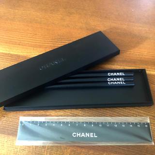 シャネル(CHANEL)のCHANEL ノベルティー ペンケースセット 鉛筆 定規(ペンケース/筆箱)