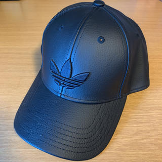 adidas - 【adidas originals】leather cap all black