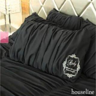 レディー(Rady)の2枚セットRady パレスフレームシャーリング ピロケース 枕カバー(枕)