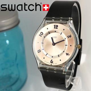 スウォッチ(swatch)の89 スウォッチ時計 新品電池 男女兼用 スケルトン 超軽量(腕時計)