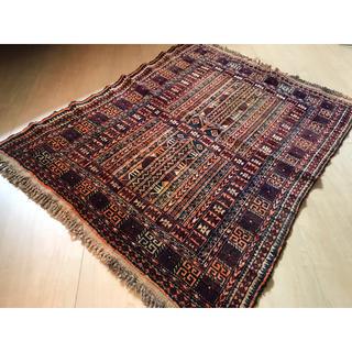 IDEE - 【美品】アフガニスタン産 バルーチ族手織り絨毯