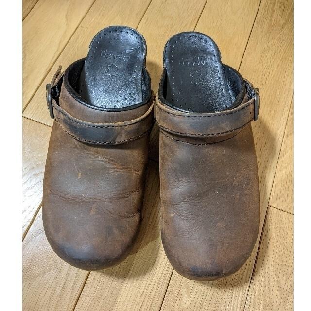 dansko(ダンスコ)のダンスコ イングリッド  40 アンティークブラウン オイルド  レディースの靴/シューズ(その他)の商品写真