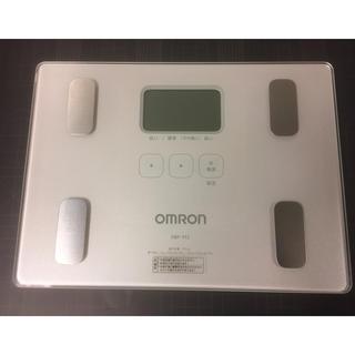 オムロン(OMRON)のオムロン  体重体組成計  HBF–912   美品(体重計/体脂肪計)