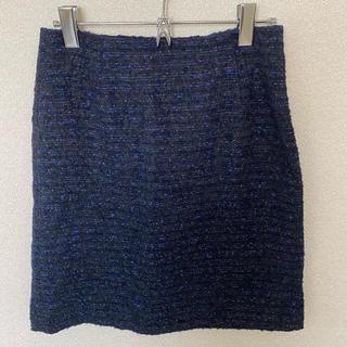 クードシャンス(COUP DE CHANCE)のクードシャンス ツイードスカート(ミニスカート)