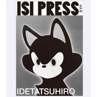 イセタン(伊勢丹)のステッカー付「ISI PRESS vol.6 IDETATSUHIRO」(アート/エンタメ/ホビー)
