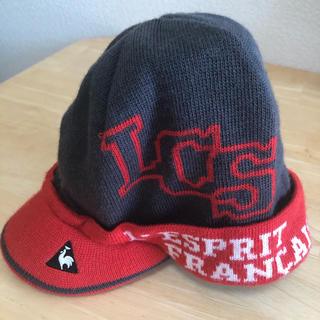 ルコックスポルティフ(le coq sportif)のルコック ニット帽 (キャップ)